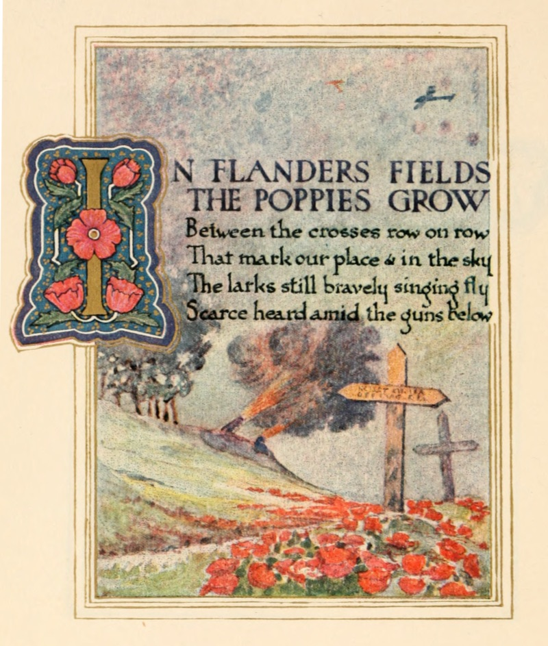 In Flanders Fields the Poppies Grow